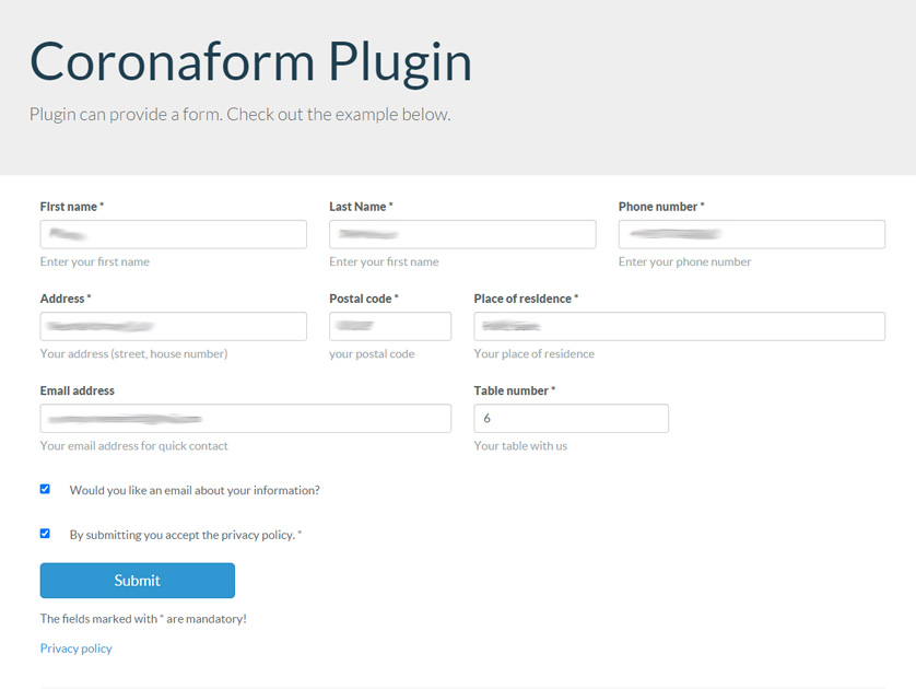 Frontend-Integration der Plugin-Komponente